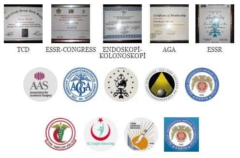 Dr.Ertan BEYATLI - Diploma, Sertifika, Üyelikler